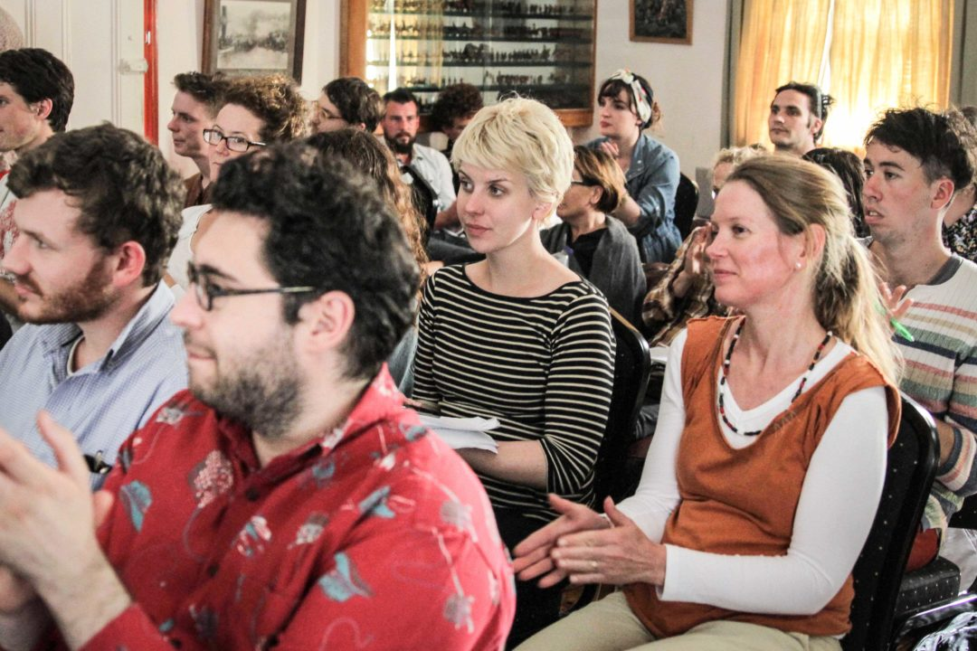 The Audience at The Gun Club for Systematic Wonder – Science as Art